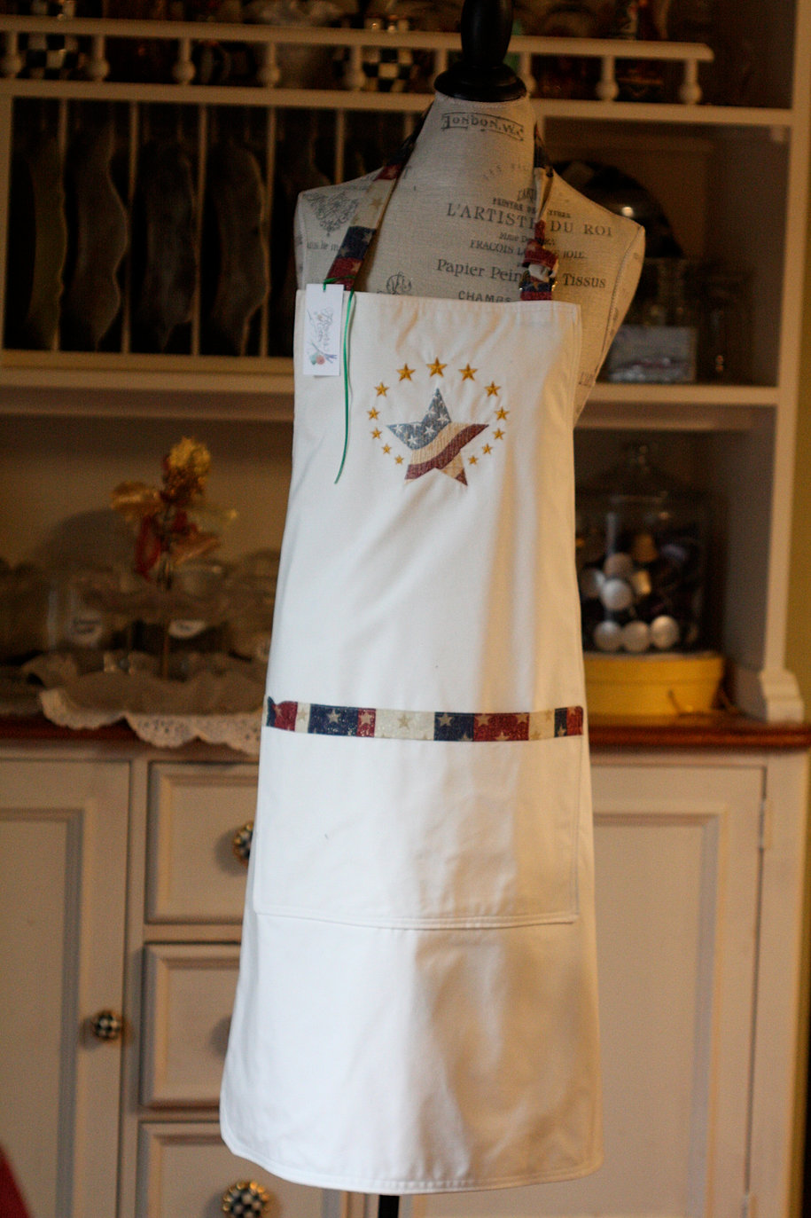 White apron brighton - Patriotic Star