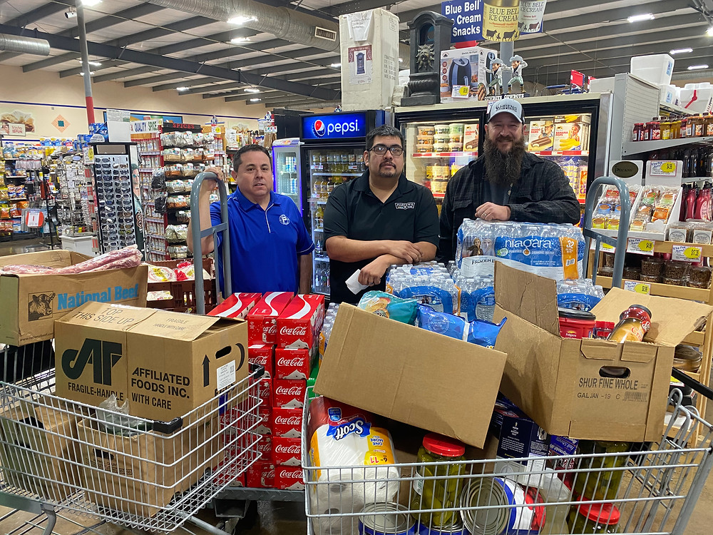 Porter's donated food and beverages to the event