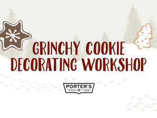 3rd Annual Christmas Cookie Decorating Workshop