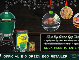 Enter to Win a Big Green Egg!