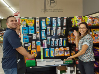 Porter's donates school supplies Crane Independent School District
