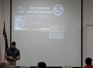 Porter's in Seminole provided refreshments for training