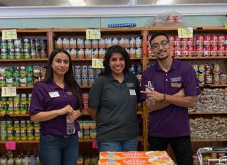 Team Members in Andrews Volunteer at the Andrews Food Pantry