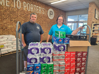 Seminole Donates to EMS and M&M Suicide Project