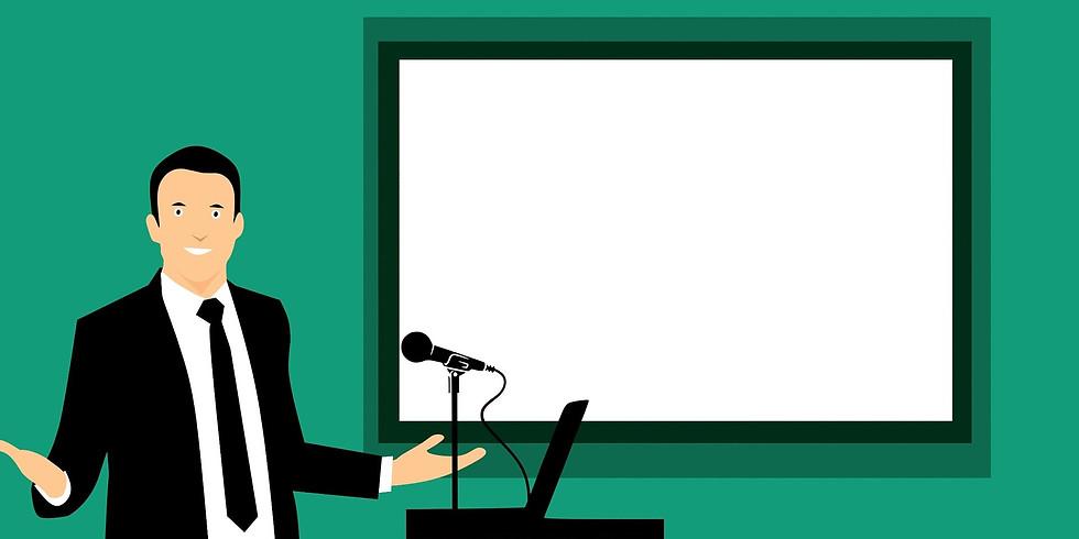 【ウェビナー式・1on1トレーニング】説得力を持って伝える  「プレゼンテーションスキル研修」