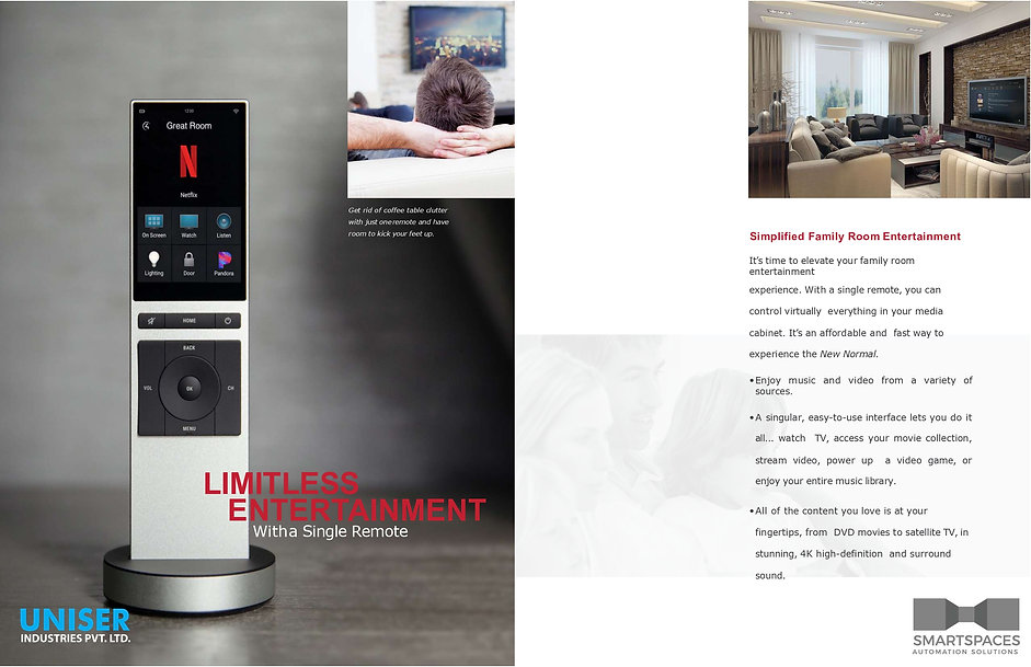 Uniser SmartSpaces Corporate Profile 202