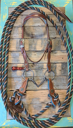 SOLD  Bridle set