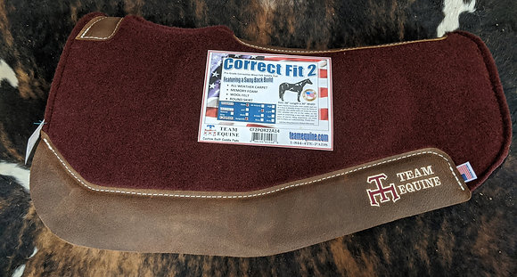 Team Equine Sway Back Pad