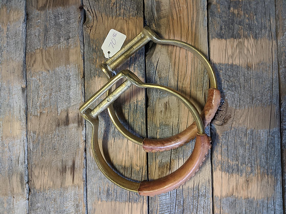 Brass Oxbows Oversized