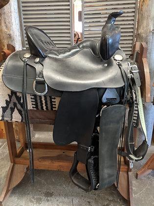 """15"""" Used Tucker  Saddle"""