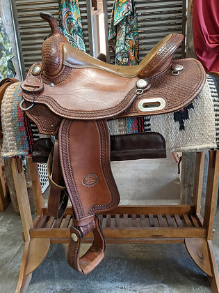 """15.5""""  Billy Cook Trail saddle"""