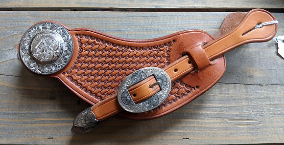 Cary Schwarz Spur Strap With Marsh silver