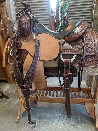 "16"" JPH Working Cowhorse Saddle"