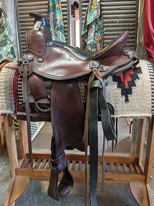 "16"" Allegany saddle"