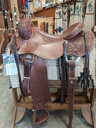 """16"""" Jeff Smith Working Cowhorse"""