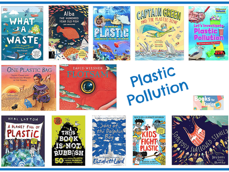 Captain Green and The Plastic Scene features on Books For Topics