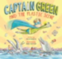 Captain Green and the Plastic Scene front cover