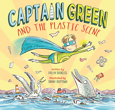 front cover Captain Green and the Plastic Scene
