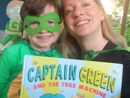 BLAST OFF! Asian launch of Captain Green And The Tree Machine . . .