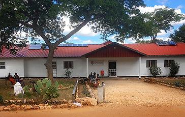 Clinica en Zambia
