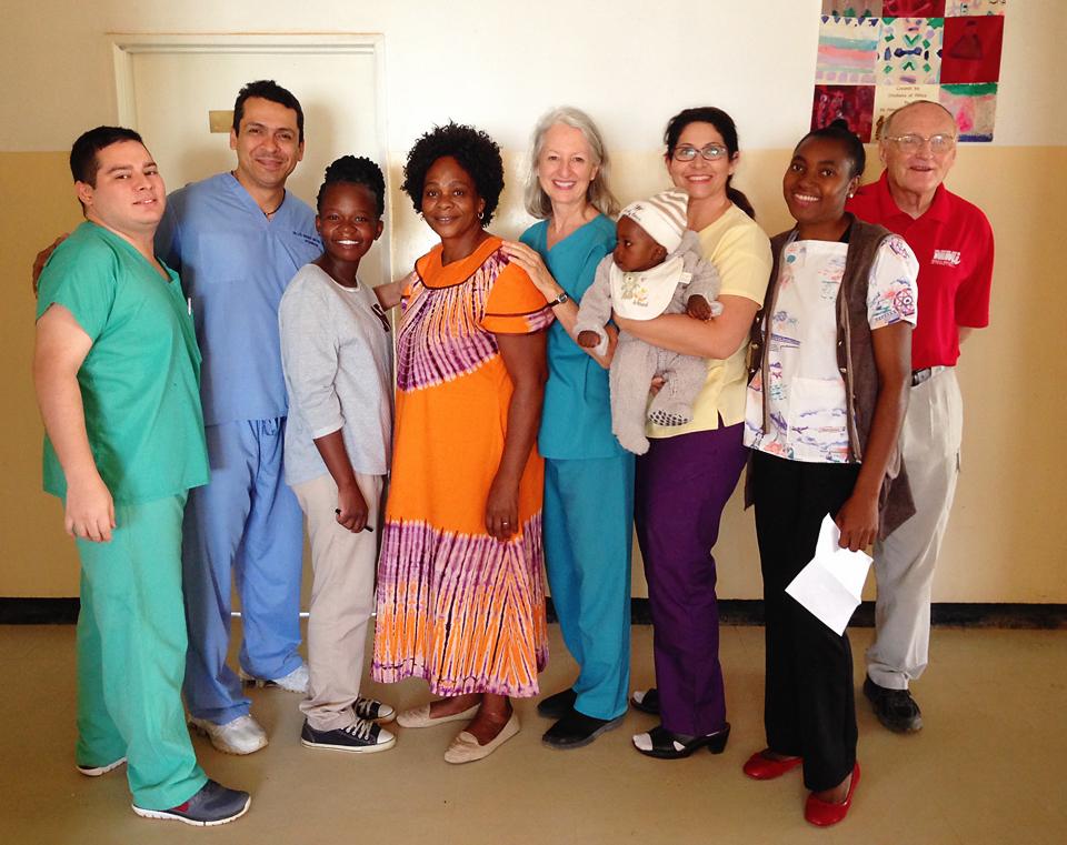 Viaje misionero Zambia