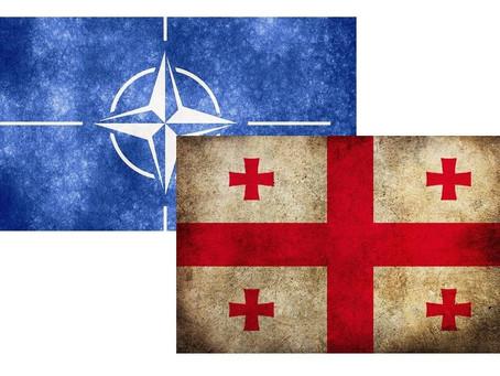 GEORGIA HAS LONG ABANDONED EFFORTS TO ADVANCE ON NATO MEMBERSHIP