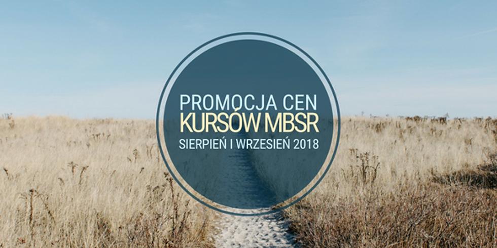 Wakacyjna promocja cen Kursów MBSR
