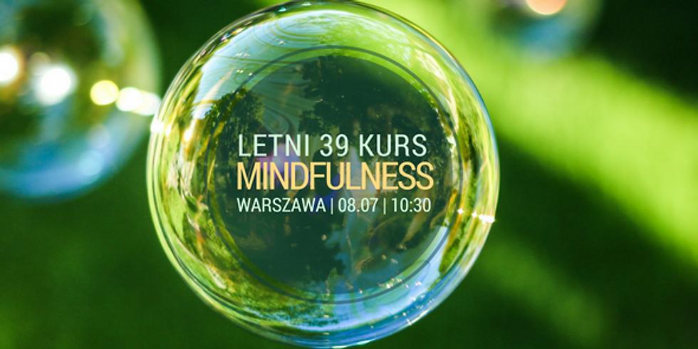 Niedzielny, intensywny 39 Kurs Mindfulness (MBSR) w wakacje
