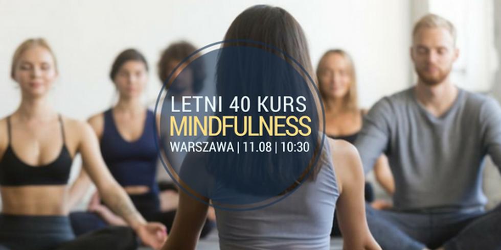 Weekendowy intensywny 40 Kurs Mindfulness (MBSR) w wakacje