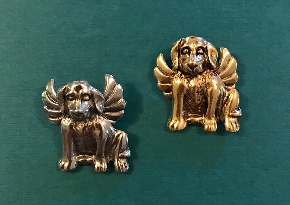Puppy Angel Pin #650