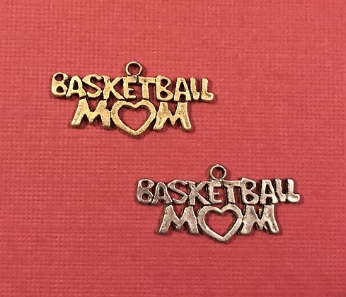 Basketball Mom Charm
