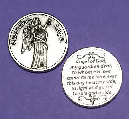 Angel of God Guardian Angel Token