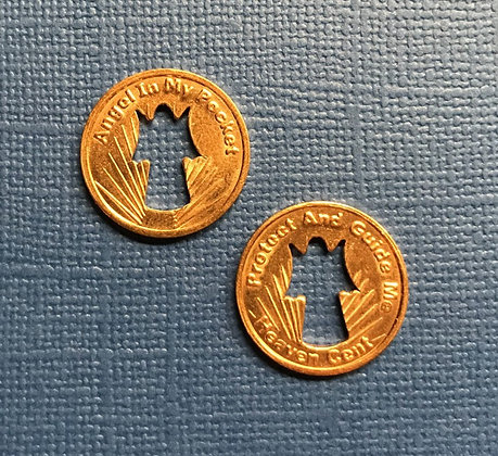 Copper Angel in My Pocket Token