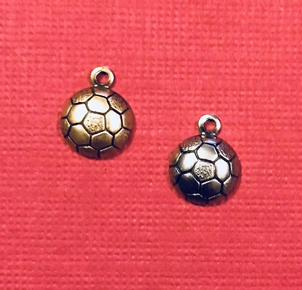 Tiny Soccer Ball Charm