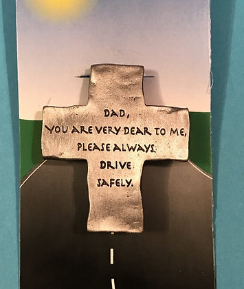 Dad Cross Visor Clip