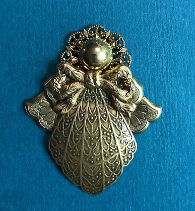 Guardian Angel Pin #215 Silver