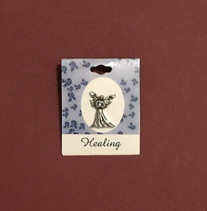 Healing Blessing Angel Pin