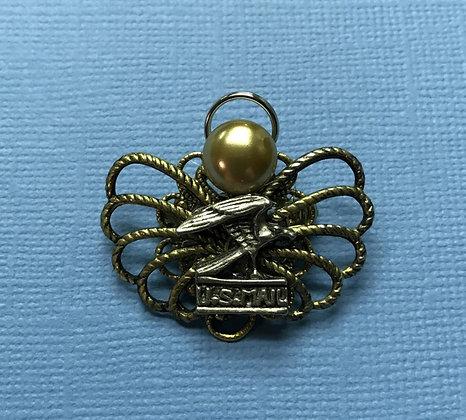 Postal Worker Angel Pin