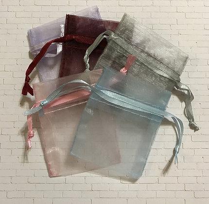 Tiny Organza Gift Bags
