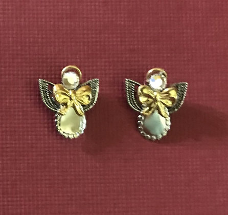 Pierced Angel Earrings  #141E