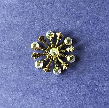 Small Snowflake Pin #844AB