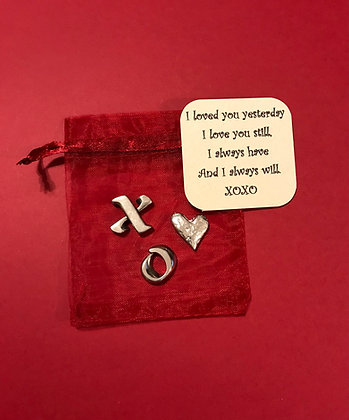 I Love You Token Gift Set