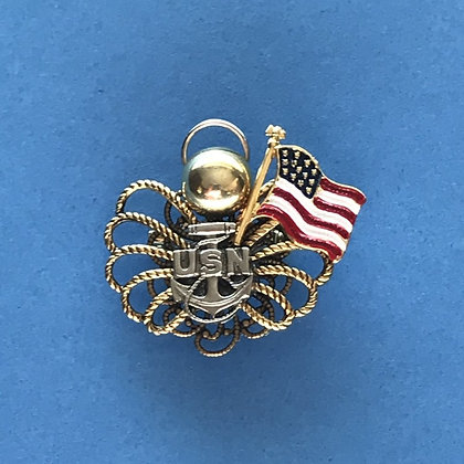 Navy Angel Pin #787