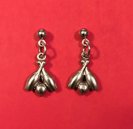 Bowling Earrings
