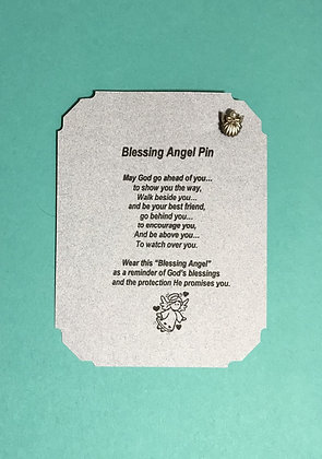 Blessing Angel Pin & Poem Card #157