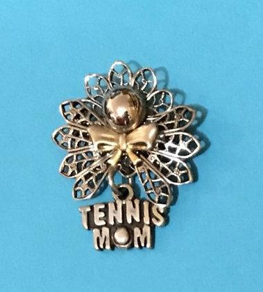 Tennis Mom Angel Pin #554