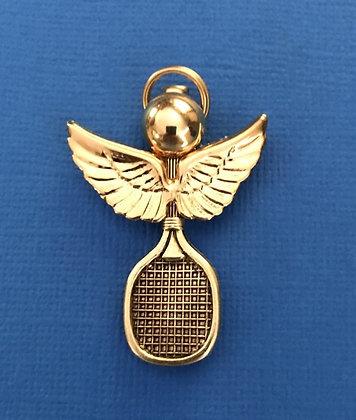 Tennis Angel Pin #552