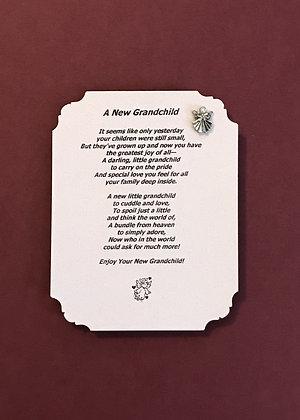 New Grandchild Guardian Angel Pin Set #139