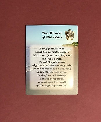 The Miracle of the Pearl Angel Pin Set