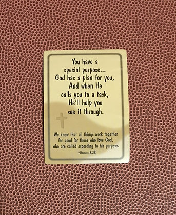 You Have A Special Purpose Prayer Card